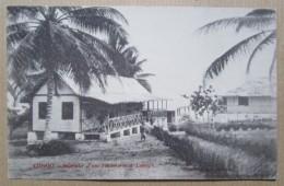 Congo Interieur D'une Factorerie Loango Cpa - Congo - Brazzaville