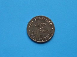 San Francisco California MISSION BAY GOLF Center ( For Grade, Please See Photo ) !! - Otros