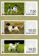 Denmark - 2015 - Me Said The Dog - Mint ATM Self-adhesive Stamp Set - Ongebruikt
