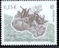 FSAT/TAAF 2006 Single: Mineral, Rutile #362 - Nuevos