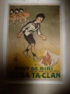 Très Rare AFFICHE Ancienne Originale Crée Par POULBOT Et éditée Pour Le BA-TA-CLAN (BATACLAN) En 1910 - Afiches