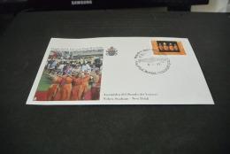 PJ1400- FDc- India   - 1999-  Visita  Di S.S. Giovanni Paolo II In India - Assemble Del Sinodo Dei Vescovi Nehru Stadium - Popes