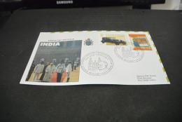 PJ1402- FDc- Vatican City - 1999-  Visita  Di S.S. Giovanni Paolo II In India -dispaccio Speciale - New Dehli - Popes