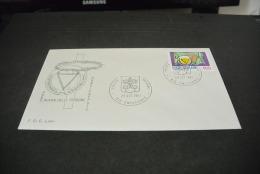 PJ1570- FDC Lory  -posta  Vaticane -1981-  Anno Intern. Della Persone Handicappate - FDC
