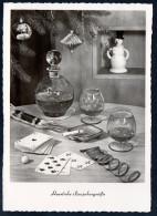 8249 - Alte Glückwunschkarte - Neujahr - Räuchermann - Mehlig - DDR 1961 - Año Nuevo