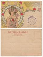 DOTTOR HIRS POLVERE DENTIFRICIA Cartolina/postcard #40 - Pubblicitari