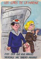 ALEXANDRE   Ed  LYNA  N°815/5  -  HUMOUR  érotisme Série Les Gars De La Marine  -  CPM  10,5x15 BE Neuve - Alexandre
