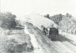 Dampflokomotive Baureihe 01-2207 Bei Berlin-Ostkreuz (1977)