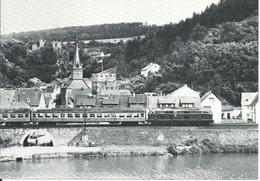Diesellokomotive Baureihe 216 Mit E3766 (1979) - Bei Balduinstein
