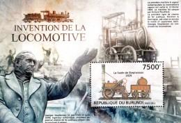 Burundi  Block  Dampflokomotive  ** / MNH - Trains