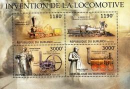 Burundi  Kleinbogen  Dampflokomotiven  ** / MNH - Trains