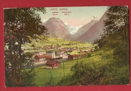 FJD-01  Linthal Glarus Sud, Glaris. Gelaufen In 1925.   Photoglob 5870 - GL Glaris