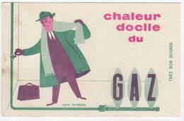 Buvard, Gaz, D'après Fix-Masseau, Ilustrateur - Gas, Garage, Oil