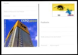 BUND PSo69 Sonderpostkarte EXPO Hannover ** 2000 - 2000 – Hannover (Deutschland)