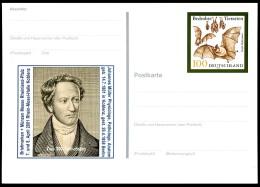 BUND PSo75 Sonderpostkarte PHYSIOLOGE JOHANNES MÜLLER Koblenz ** 2001 - BRD