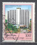 Congo YT N°746 Hotel M'Bamou Palace Brazzaville Oblitéré ° - Oblitérés