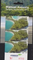B)2012 COSTA RICA, MANUEL ANTONIO NATIONAL PARK, SEA, TREE, SOUVENIR SHEET, MNH - Costa Rica