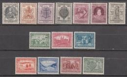 NEWFOUNDLAND     SCOTT NO.  212-25     MINT HINGED     YEAR  1933 - Newfoundland