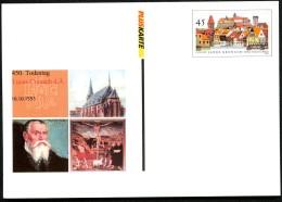 BUND PSo82 Sonderpostkarte LUCAS CRANACH ** 2003 - BRD