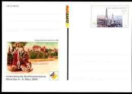 BUND PSo83 Sonderpostkarte BÖRSE MÜNCHEN ** 2004 - BRD