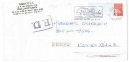 FRANCIA - France - 2000 - Marianne De Luquet Rouge + Flamme + FD, Fausse Direction - Seul - Viaggiata Da Lagny-sur-Ma... - Francia