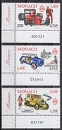 MONACO 2000 - SERIE N°2276 A 2278 - 3 TP NEUFS** G57 - Unused Stamps