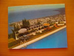 Réunion : CP Vue Panoramique Sur Saint-Denis  Hôtel Des Relais Aériens Ayant Circulé (1970) - Reunion Island (1852-1975)