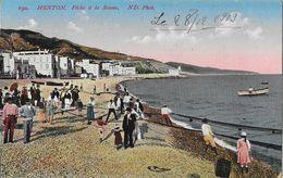 Menton (Alpes-Maritimes) - Pêche à La Senne - Carte ND Phot. N° 690 Colorisée - Menton