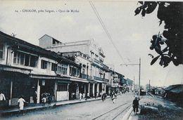 Cholon Près Saïgon (Viet-Nam) - Quai De Mytho - Collection S.C.G.M. - Carte N° 14 Non Circulée - Viêt-Nam