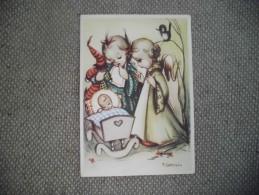 BELLE ILLUSTRATION  ..ANGES ...ENFANTS ..SIGNE M.GSTREIN ?? - Illustrateurs & Photographes