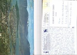529208,Riesen AK Giant Big Card 25X15 Cm Vancouver Downtown Harbour Canada - Britisch Kolumbien