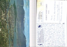 529208,Riesen AK Giant Big Card 25X15 Cm Vancouver Downtown Harbour Canada - Ohne Zuordnung