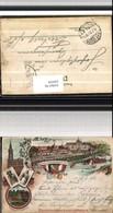 529378,Vorläufer Litho Strassburg Im Elsass Industrie Gewerbe Ausstellung 1895 Strasb - Ausstellungen