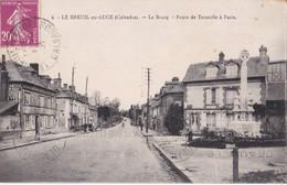 4 LE BREUIL EN AUGE              Le Bourg                       Route De Trouville A Paris - Francia