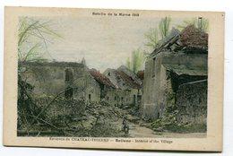 CPA  02  : BELLEAU  Guerre 14-18   A  VOIR  !!!!!!! - Sonstige Gemeinden