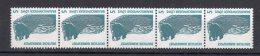 Bund  Rollenmarke    1448 ** Postfrisch  Mit Nr. Senkrecht  5er Streifen - [7] Repubblica Federale