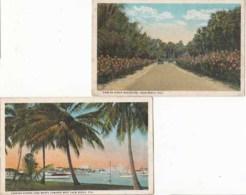 Etats Unis - Floride - Palm Beach - 5 Cartes    : Achat Immédiat - Palm Beach