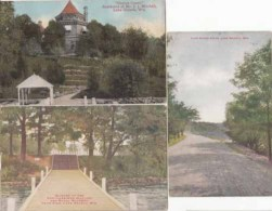 Etats Unis -  Wisconsin -  Lake Geneva - 3 Cartes    : Achat Immédiat - Etats-Unis