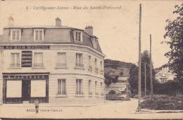 """Vailly Sur Aisne - Rue De Saint Précord (Magasin """"Au Bon Marché, Nouveautés, Confections, Vêtements Sur Mesure) Circ - Autres Communes"""