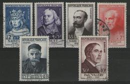 N°989/994 Oblitérés      - Cote 186€ - - France