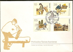 Portugal & FDC Typical Occupations Of The Azores, Lisbon 1992 (2092) - Jobs