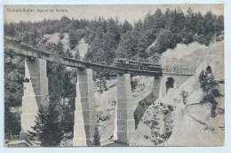 Stubaitalbahn - Brucke Bei Mutters - Verlag Von Fritz Gratl - Mutters