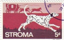 Gran Bretagna Emissioni Locali -  Stroma 1969 -  4d Used  Animali  Cani - Emissione Locali