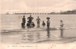 17 ROYAN GROUPE DE BAIGNEURS PAS CIRCULEE - Royan