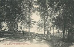 09)    MASSAT  - La Promenade Et Les Ecoles - France