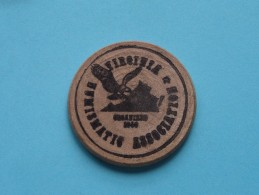 VIRGINIA NUMISMATIC ASSOCIATION 28th Annual Convention And Coin Show 1986 ( Wood ) ( Please See Photo ) !! - Etats-Unis