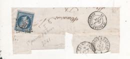 Pc 3241 - Marcophilie (Timbres Détachés)
