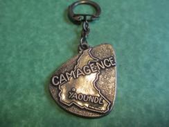 Agence De Voyages/Camagence- Camvoyage/Buea/YAOUNDE/Cameroun /Afrique/Années 60       POC186 - Key-rings
