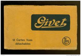 France : Givet  - Carnet Avec 12 Cartes Postales - Givet