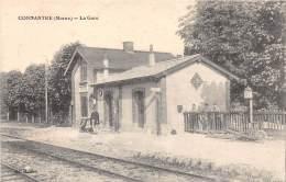 51 - Marne - Connantre - Gare - Ligne Romilly Sur Seine à Sézanne Et Epernay - France